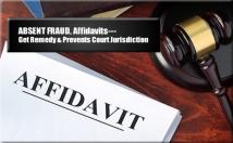 provide two best structured affidavit templates